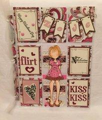 Flirt Valentine Pocket Letter