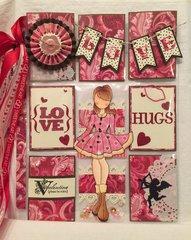 Be Mine Valentine Pocket Letter