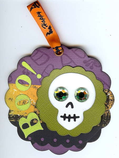 """""""Front"""" Halloween Tag for All Occasion Tag Swap"""