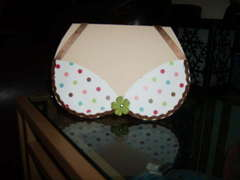 Bra and Panty invite, front