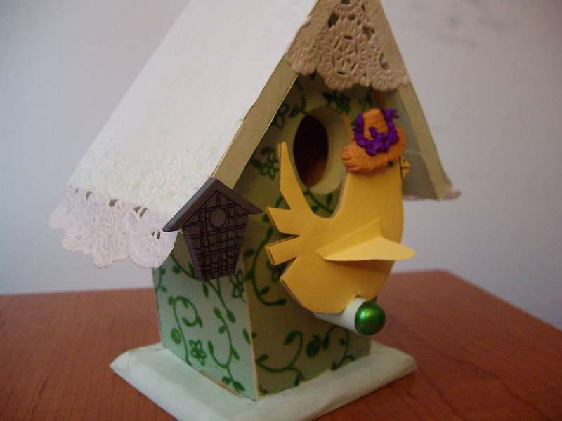 Altered Birdhouse 3