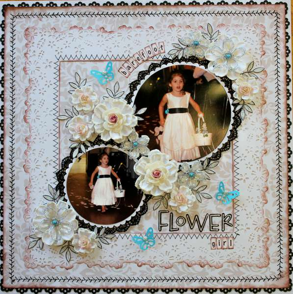 Barefoot Flower Girl