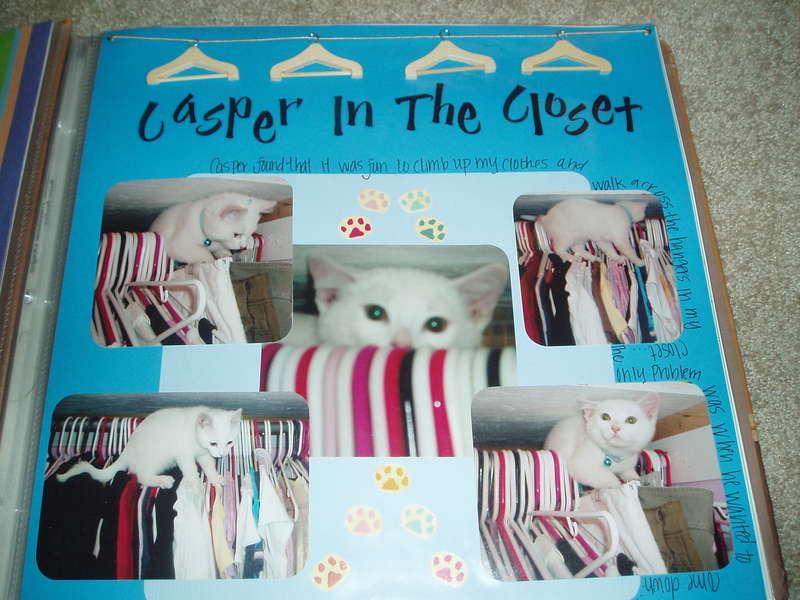 Casper in the Closet