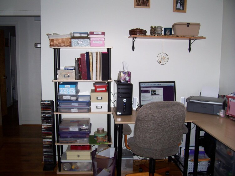 Storage and Work Space!
