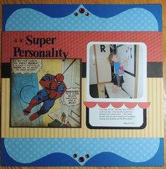 Spider Man - Gril Layout