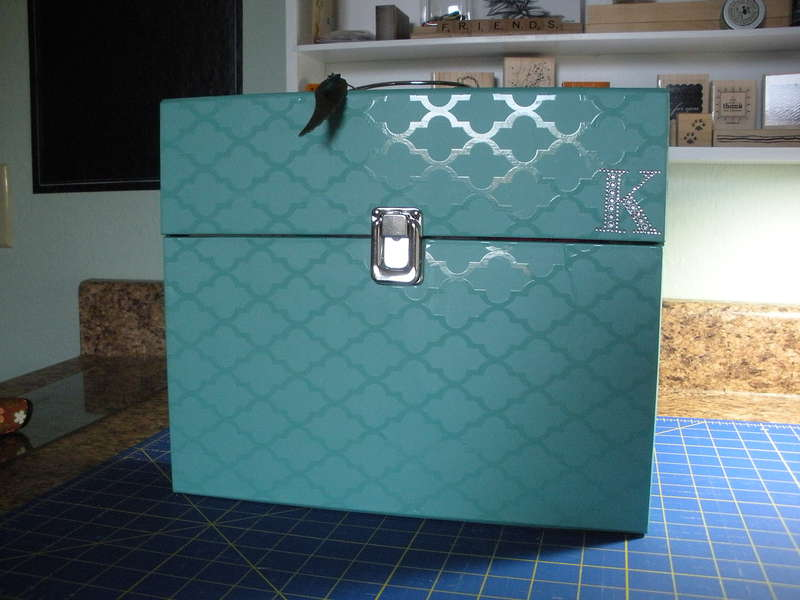 Heidi Swapp File folder Box