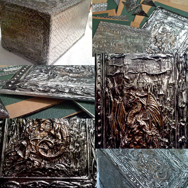 Close ups of Dragon Box