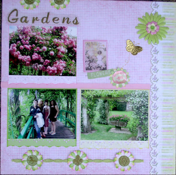 Giverny Gardens - rt side