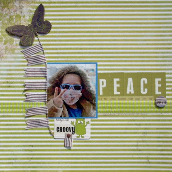 Peace - Ways to Washi