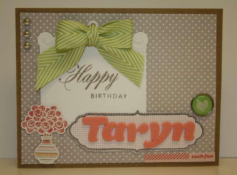 Happy Birthday Taryn