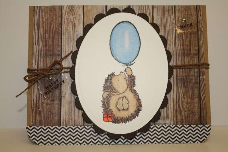 Birthday Hedgehog