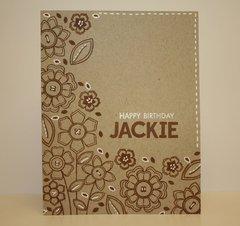 Happy Birthday Jackie