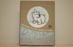 Birthday Polar Bear