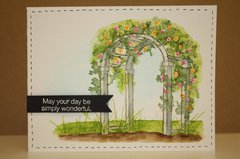 Art Impressions watercolor stamps