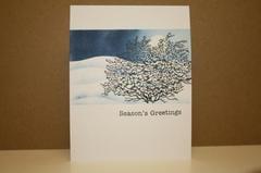 Snowy Season's Greetings