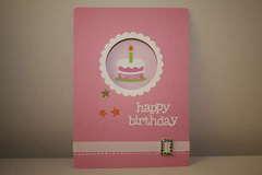 Tiana's birthday card