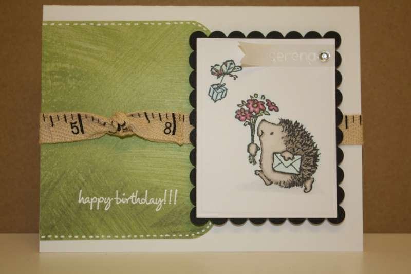 Happy Birthday Hedgehog