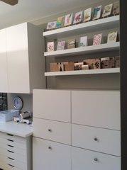 The shelves!
