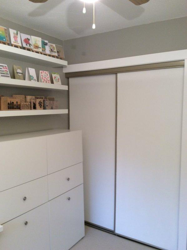 The beloved closet...