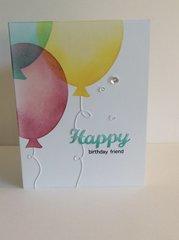 Balloon card (CAS'e).