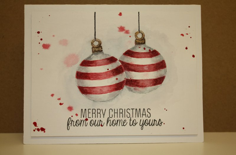 Watercolored Ornament (copy and share)