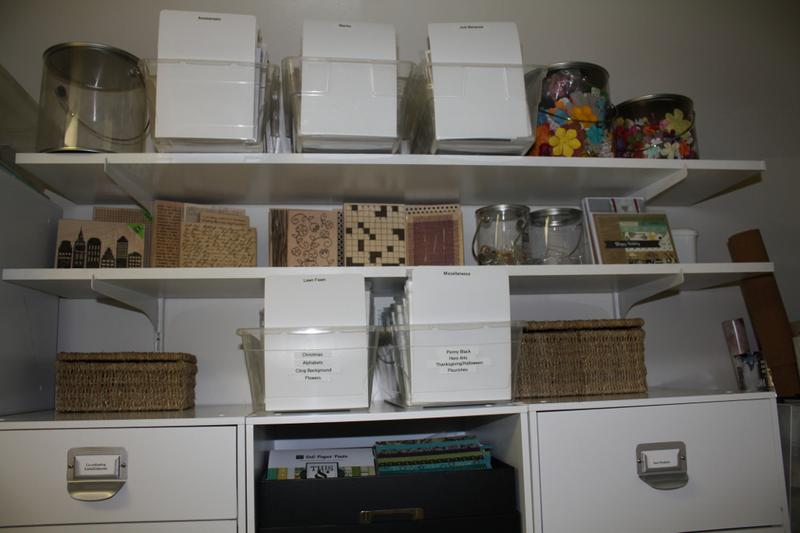 Update on Clear stamp storage