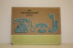 An Old-fashioned Hello