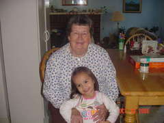 Kyla and Grandma