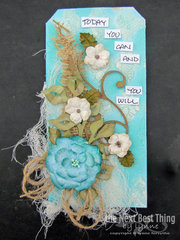 Makin Tags With  Lynne Forsythe 2