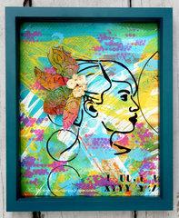 Anyone Can Create A Portrait by  Karen Liz Henderson