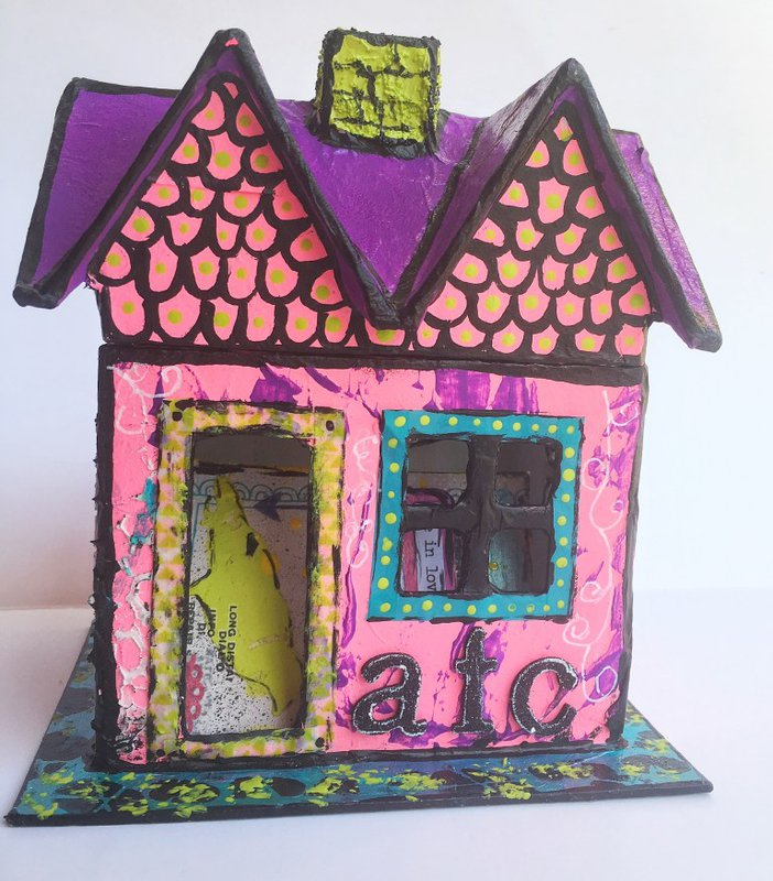 ATC House with The Crafters Workshop by Keri Sallee