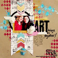 ARTY Brings us Together by TCW DT Member Beck Beattie