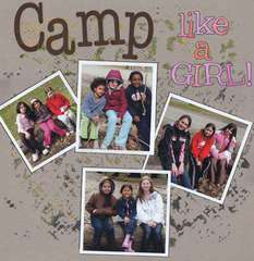 Camp like a Girl