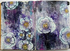 Art Journal by Karenliz Henderson **The Crafters Workshop