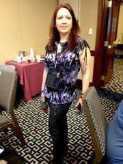 Use TCW Stencils on your clothing like Kelly Grace
