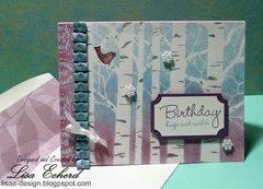 Happy Birthday by Lisa Echerd