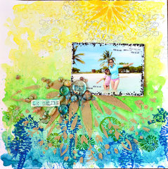 Summer by TCW DT Member  Miae Rowe