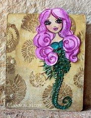 Making a Mermaid Tail by TCW DT Member  Rita Barakat