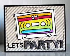 Let's Party by Ronda Palazzari