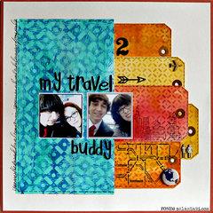 My Travel Buddy by Ronda Palazzari