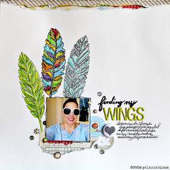 Finding My Wings by Ronda Palazzari