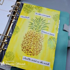 Be Like A Pineapple by Shanna Shands ** The Crafter's Workshop