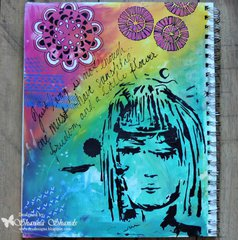 Dream Girl Art Journal by Shanna Shands **The Crafters Workshop