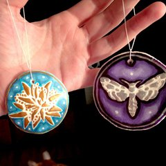 Clay Ornaments by Carmen Medlin **The Crafters Workshop