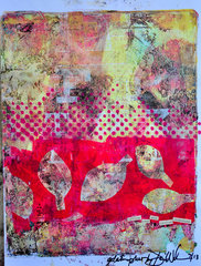 Halftones by Dina Wakley