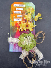 Makin Tags 4 with TCW DT Member  Lynne Forsythe
