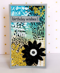 Birthday Wishes - Mixed Media Cards by TCW DT Member Sanna Lippert