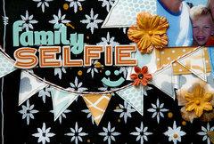 Family Selfie by TCW DT Member Sanna Lippert