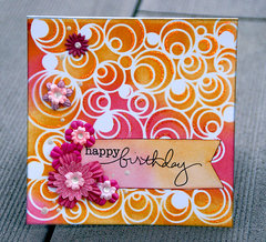 Happy birthday card by Sanna Lippert