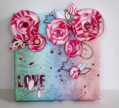 Love Wall Decor by Sanna Lippert
